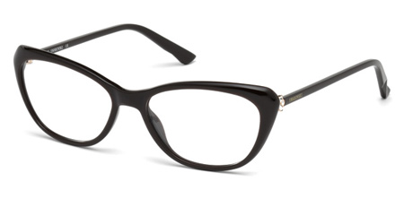 Swarovski Model: SK 5172V GORGEOUS, Colour Code: 048, Frame Colour: Shiny dark brown