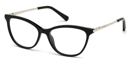 Swarovski Model: SK 5249-H, Colour Code: 001, Frame Colour: Shiny black