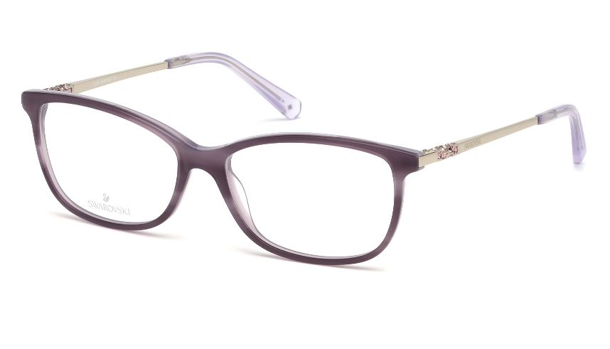Swarovski Model: SK 5285, Colour Code: 083, Frame Colour: VIOLET