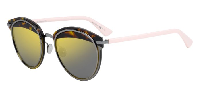 Dior Model: DiorOffSet 1, Colour Code: 01K83, Frame Colour: Havana Light Pink