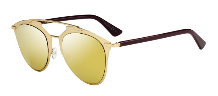 Dior Model: DiorReflected, Colour Code: YC2K1, Frame Colour: Gold Plum