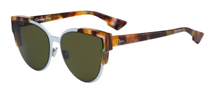 Dior Model: WildlyDior , Colour Code: P7H1E, Frame Colour: Havana Yellow Blue