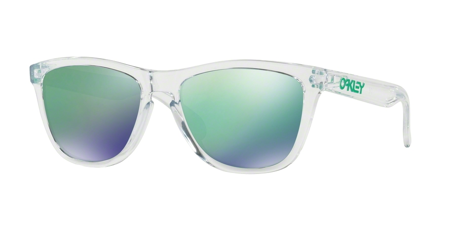 Oakley Model: FROGSKINS 9013, Colour Code: A3, Frame Colour: Polished clear
