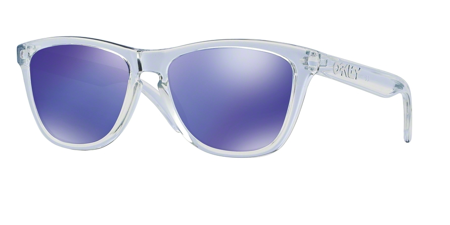 Oakley Model: FROGSKINS 9013, Colour Code: 24-305, Frame Colour: Polished clear