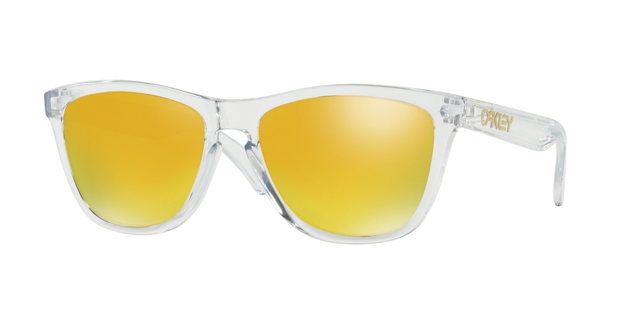 Oakley Model: FROGSKINS 9013, Colour Code: A4, Frame Colour: Polished clear
