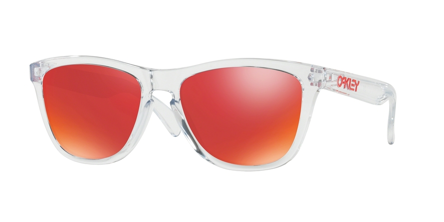 Oakley Model: FROGSKINS 9013, Colour Code: A5, Frame Colour: Polished clear
