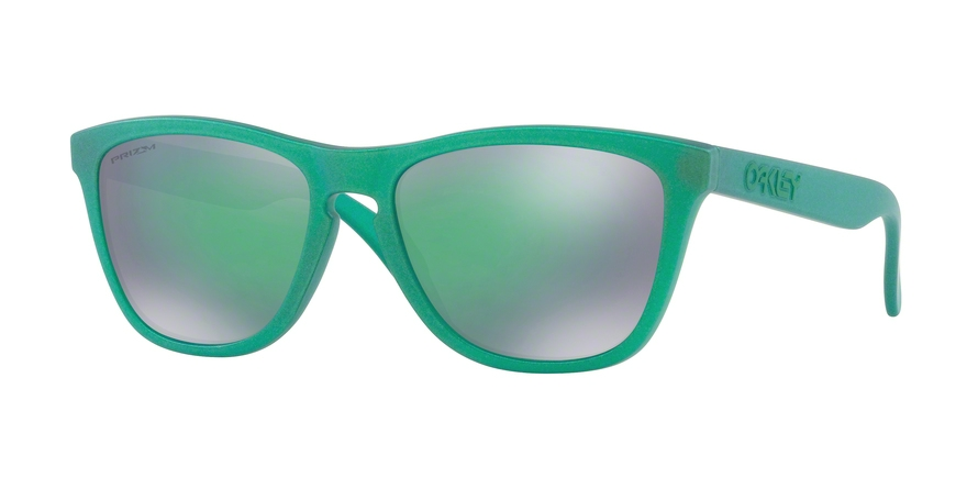 Oakley Model: FROGSKINS 9013, Colour Code: C6, Frame Colour: Gamma green