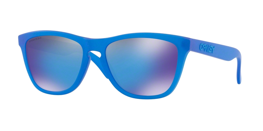 Oakley Model: FROGSKINS 9013, Colour Code: C7, Frame Colour: X-ray blue