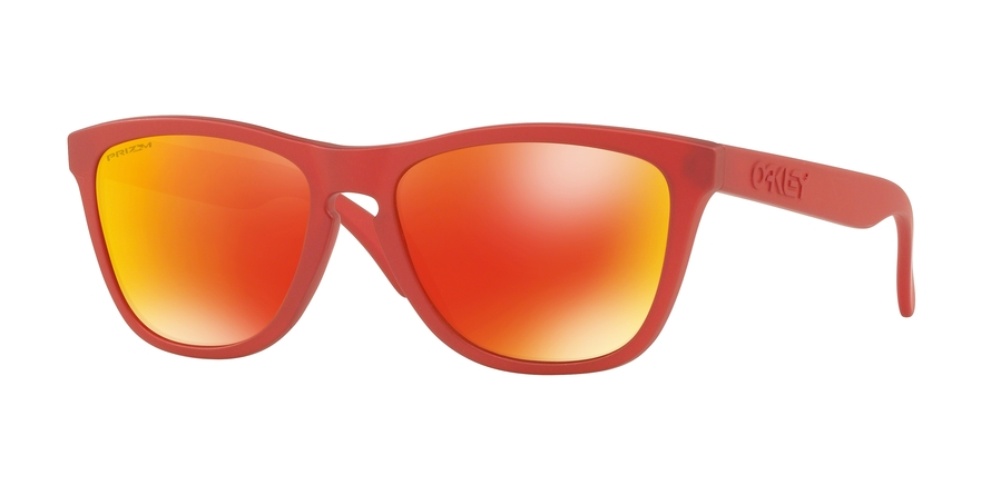 Oakley Model: FROGSKINS 9013, Colour Code: C8, Frame Colour: IR Red