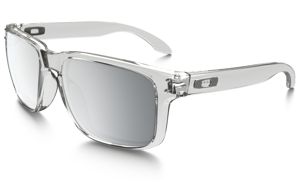 Oakley Model: HOLBROOK OO9102, Colour Code: 06, Frame Colour: POLISHED CLEAR