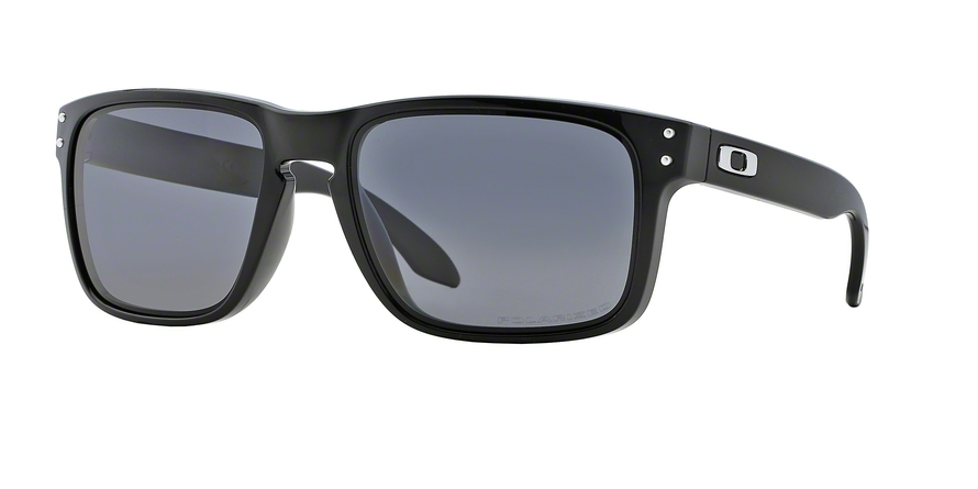 Oakley Model: HOLBROOK OO9102, Colour Code: 02, Frame Colour: Polished black