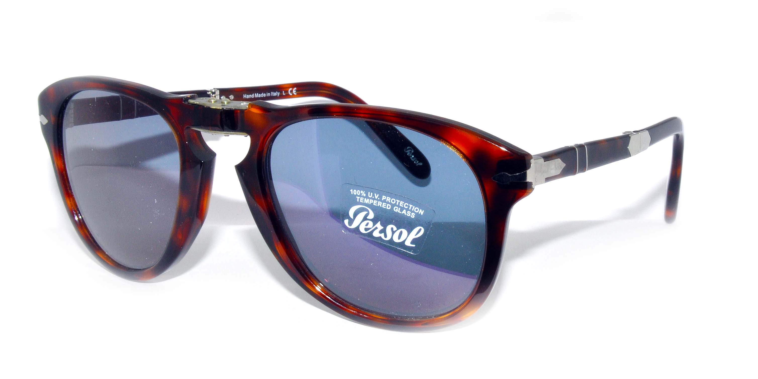 Persol Model: PO 0714 STEVE MCQUEEN, Colour Code: 24/56, Frame Colour: DARK HAVANA