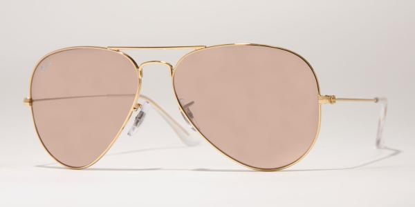 Ray-Ban Model: RB 3025 LARGE METAL AVIATOR, Colour Code: 001/3E, Frame Colour: Arista