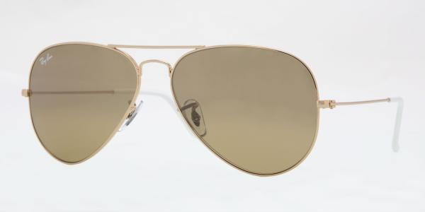 Ray-Ban Model: RB 3025 LARGE METAL AVIATOR, Colour Code: 001/3K, Frame Colour: Arista