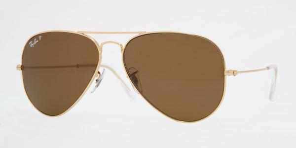 Ray-Ban Model: RB 3025 LARGE METAL AVIATOR, Colour Code: 001/57, Frame Colour: Arista
