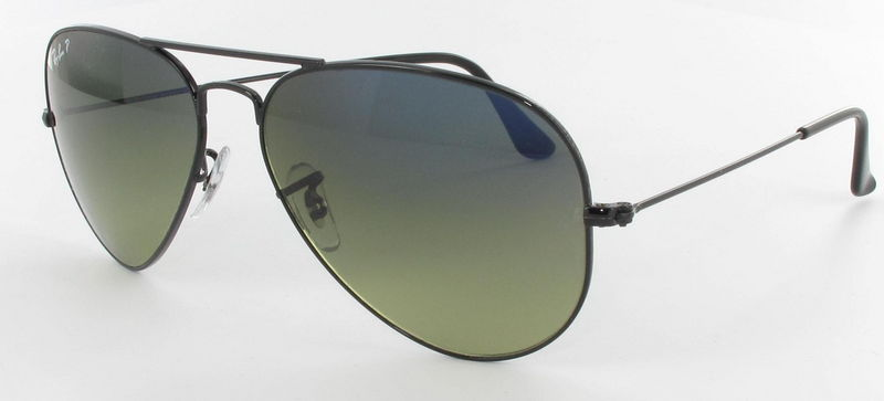Ray-Ban Model: RB 3025 LARGE METAL AVIATOR, Colour Code: 002/76, Frame Colour: Black