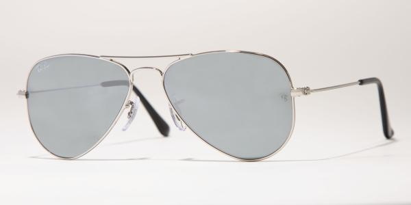 Ray-Ban Model: RB 3025 LARGE METAL AVIATOR, Colour Code: 003/40, Frame Colour: Silver