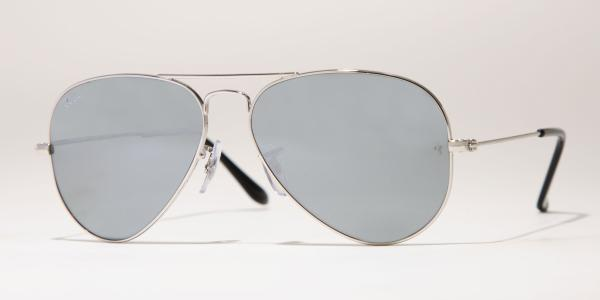 Ray-Ban Model: RB 3025 LARGE METAL AVIATOR, Colour Code: W3275, Frame Colour: Silver