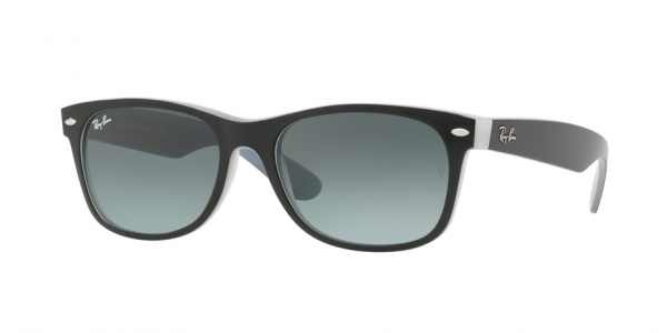 Ray-Ban Model: RB 2132 NEW WAYFARER, Colour Code: 630971, Frame Colour: Matte black