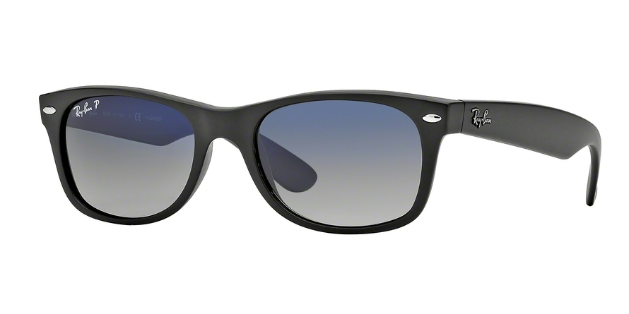Ray-Ban Model: RB 2132 NEW WAYFARER, Colour Code: 601S78, Frame Colour: Matte black