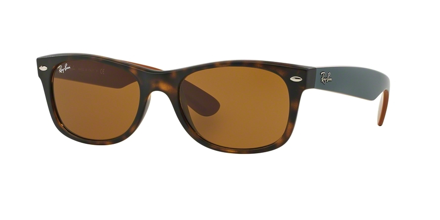 Ray-Ban Model: RB 2132 NEW WAYFARER, Colour Code: 6179, Frame Colour: Matte havana