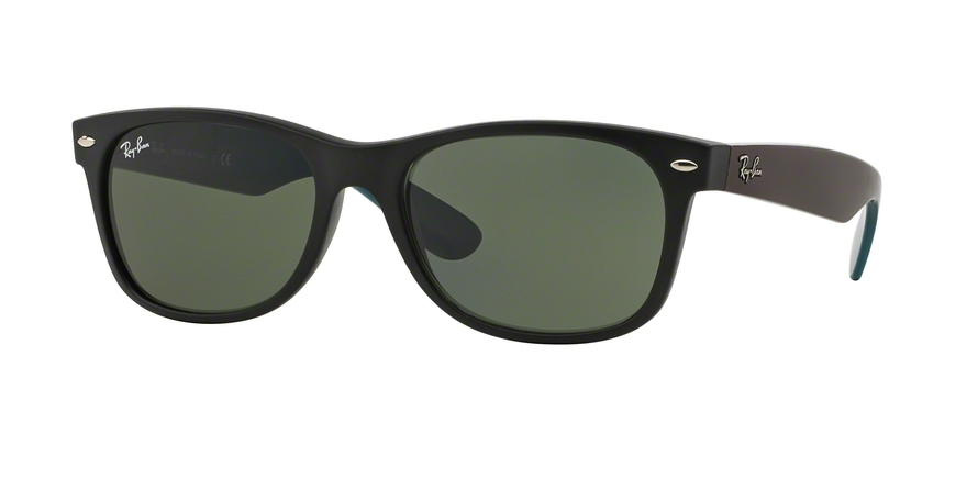 Ray-Ban Model: RB 2132 NEW WAYFARER, Colour Code: 6182, Frame Colour: Matte black