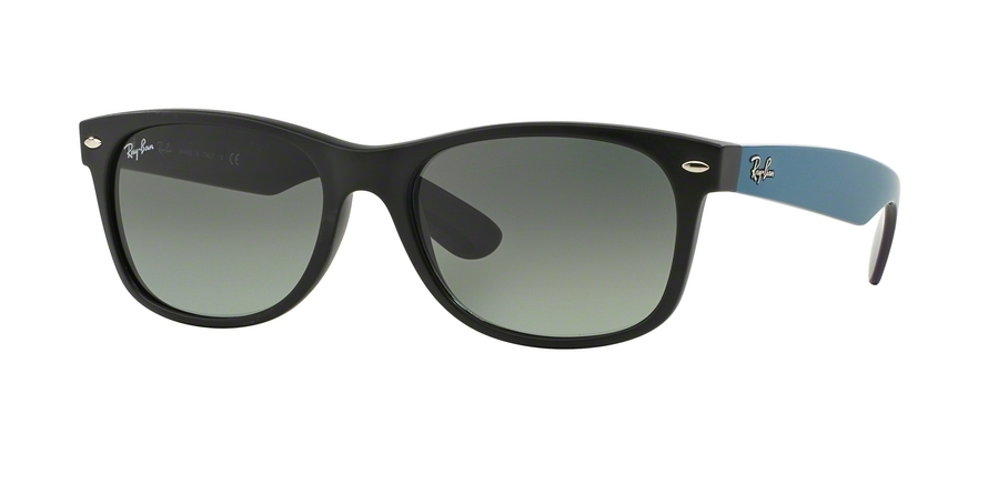 Ray-Ban Model: RB 2132 NEW WAYFARER, Colour Code: 618371, Frame Colour: Matte black