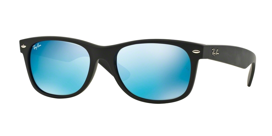 Ray-Ban Model: RB 2132 NEW WAYFARER, Colour Code: 622/17, Frame Colour: Rubber black