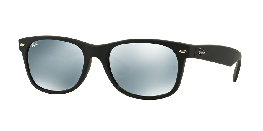 Ray-Ban Model: RB 2132 NEW WAYFARER, Colour Code: 622/30, Frame Colour: Rubber black