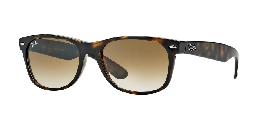 Ray-Ban Model: RB 2132 NEW WAYFARER, Colour Code: 710/51, Frame Colour: Light havana