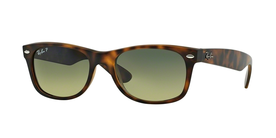 Ray-Ban Model: RB 2132 NEW WAYFARER, Colour Code: 894/76, Frame Colour: Matte havana