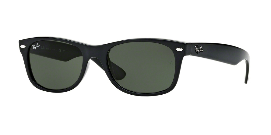 Ray-Ban Model: RB 2132 NEW WAYFARER, Colour Code: 901, Frame Colour: Black