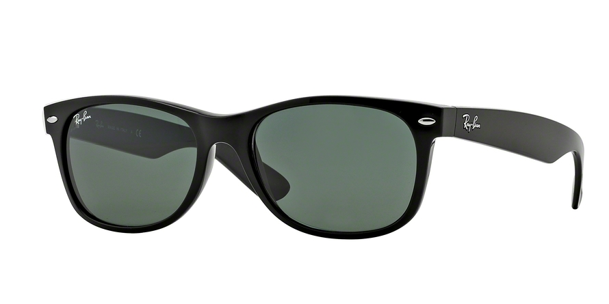 Ray-Ban Model: RB 2132 NEW WAYFARER, Colour Code: 901L, Frame Colour: Black