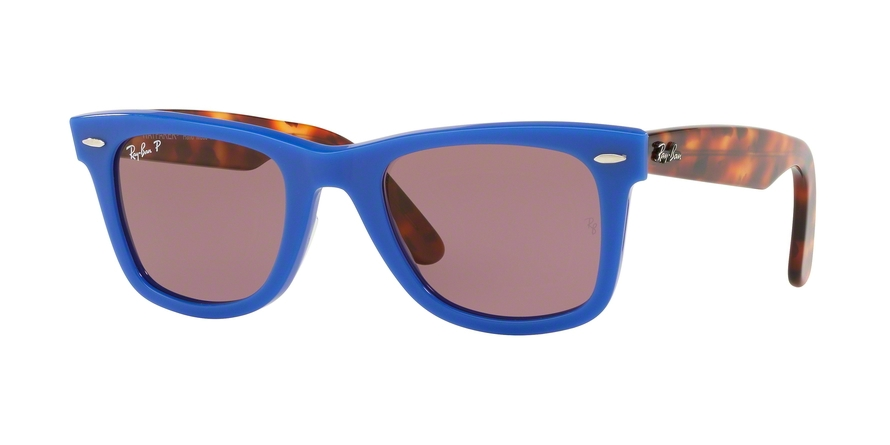 Ray-Ban Model: RB 2140 ORIGINAL WAYFARER, Colour Code: 1241W0, Frame Colour: Blue