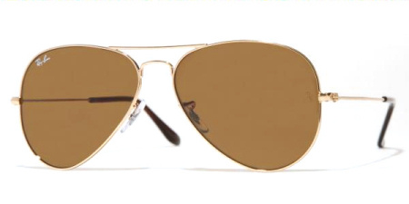 Ray-Ban Model: RB 3025 LARGE METAL AVIATOR, Colour Code: 001/33, Frame Colour: Arista