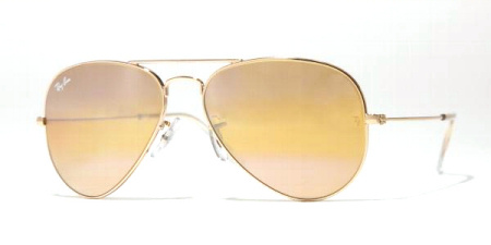 Ray-Ban Model: RB 3025 LARGE METAL AVIATOR, Colour Code: 001/4F, Frame Colour: Arista