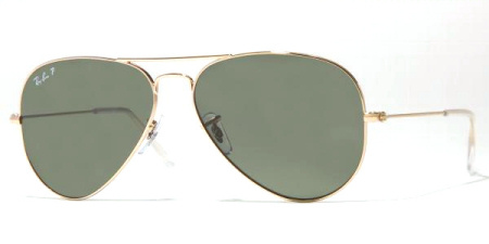 Ray-Ban Model: RB 3025 LARGE METAL AVIATOR, Colour Code: 001/58, Frame Colour: Arista