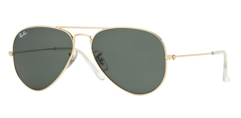 Ray-Ban Model: RB 3025 LARGE METAL AVIATOR, Colour Code: W3234, Frame Colour: Arista