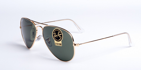 Ray-Ban Model: RB 3025 LARGE METAL AVIATOR, Colour Code: L0205, Frame Colour: ARISTA