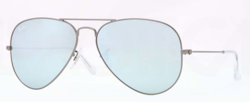 Ray-Ban Model: RB 3025 LARGE METAL AVIATOR, Colour Code: 029/30, Frame Colour: Matte gunmetal