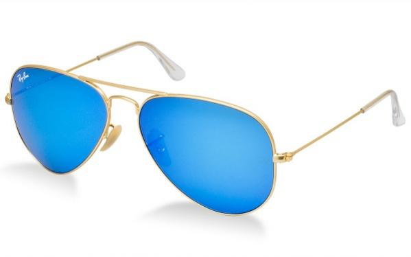 Ray-Ban Model: RB 3025 LARGE METAL AVIATOR, Colour Code: 112/17, Frame Colour: Matte gold