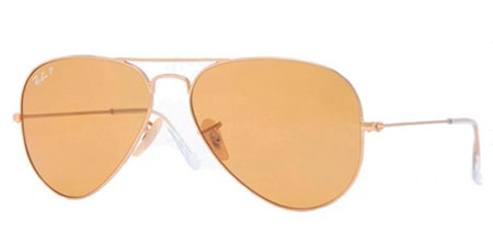 Ray-Ban Model: RB 3025 LARGE METAL AVIATOR, Colour Code: 112/06, Frame Colour: MATTE GOLD